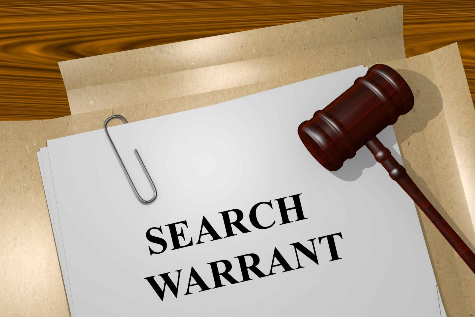 Search warrant Texas